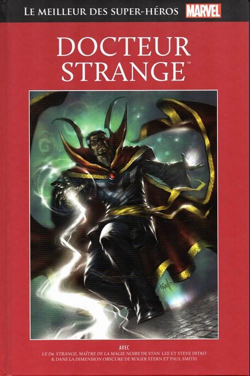 Couverture de Marvel Comics : Le meilleur des Super-Héros - La collection (Hachette) -26- Docteur strange