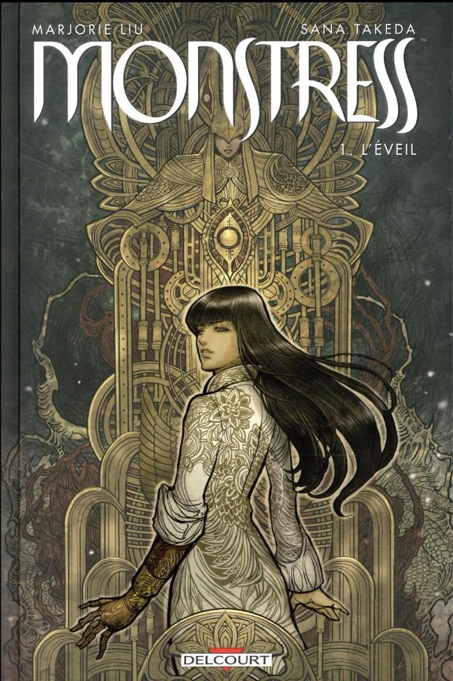 Couverture de Monstress -1- L'Éveil