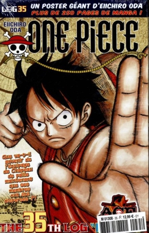 Couverture de One Piece - La collection (Hachette) -35- The 35th Log