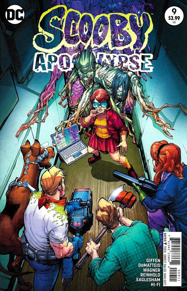 Couverture de Scooby Apocalypse (2016) -9- Before The Storm