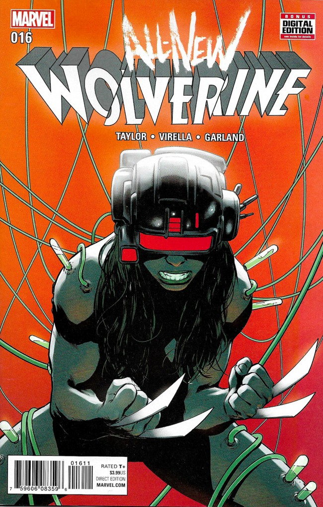 Couverture de All-New Wolverine (2016) -16- Enemy Of The State II