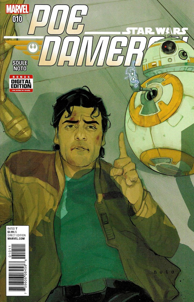 Couverture de Poe Dameron (2016) -10- Book III, Part III : The Gathering Storm