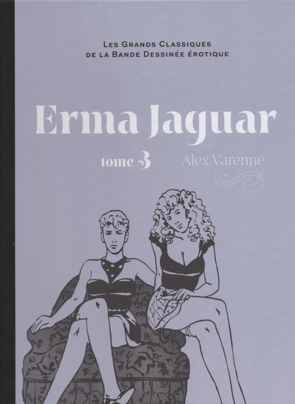 Couverture de Les grands Classiques de la Bande Dessinée érotique - La Collection -209- Erma Jaguar - tome 3