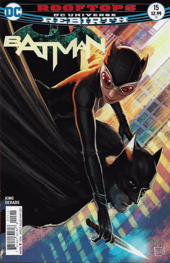 Couverture de Batman (DC Comics - 2016) -15- Rooftops, Part Two