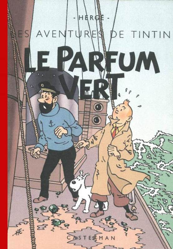 Couverture de Tintin - Pastiches, parodies & pirates - Le parfum vert