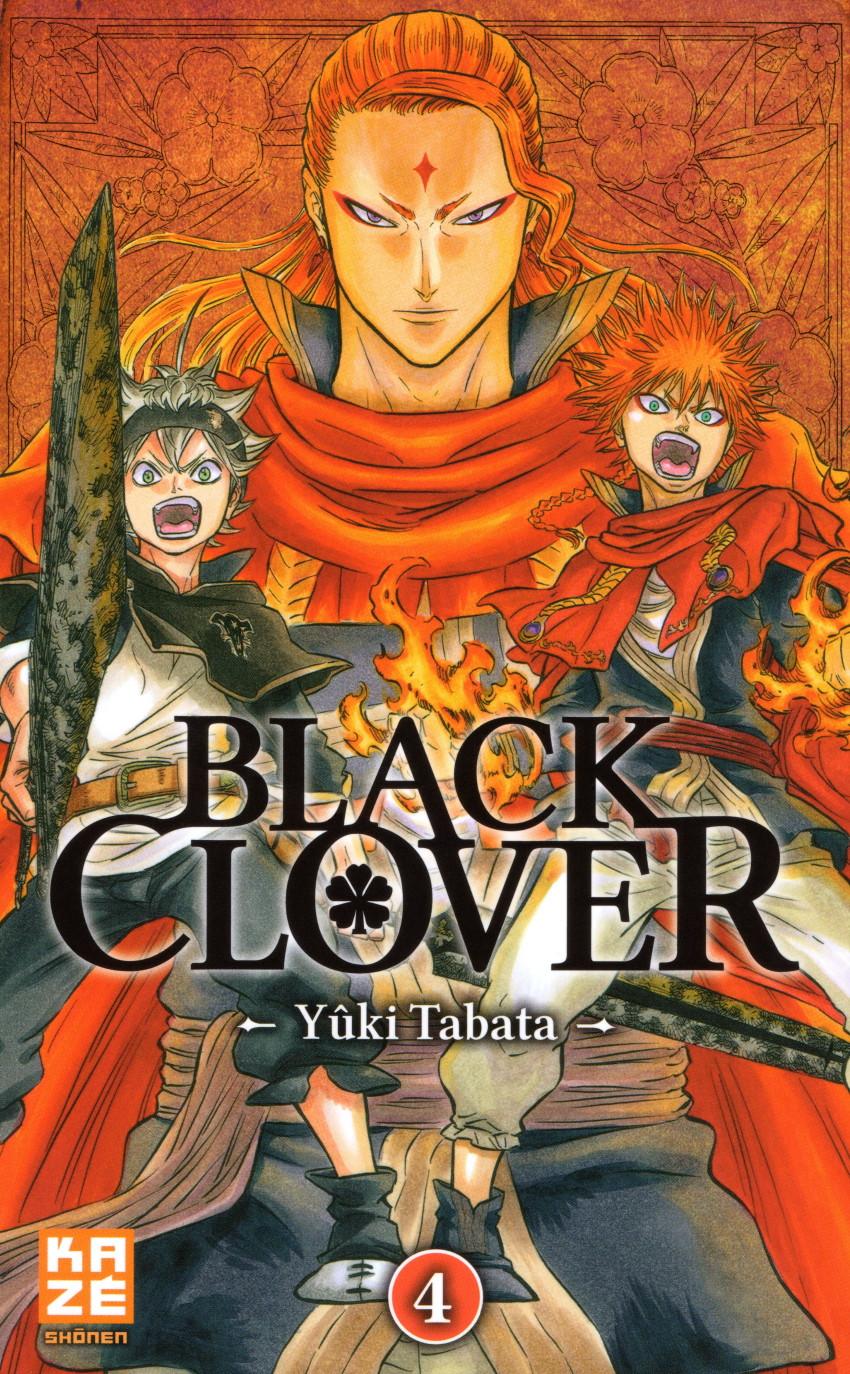 Couverture de Black Clover -4- Le lion flamboyant