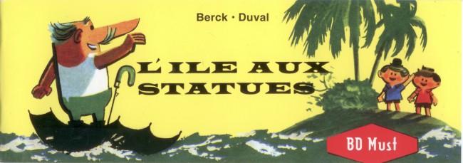 Couverture de L'Île aux statues - L'île aux statues