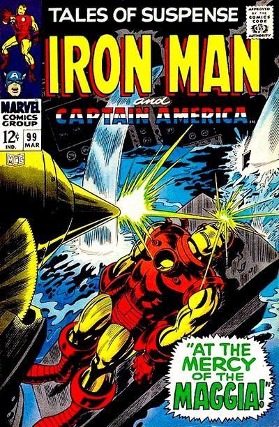 Couverture de Tales of suspense Vol. 1 (Marvel comics - 1959) -99-