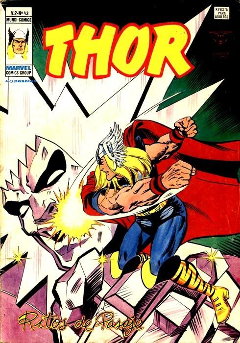 Couverture de Thor (Vol.2) -43- Ritos de pasaje