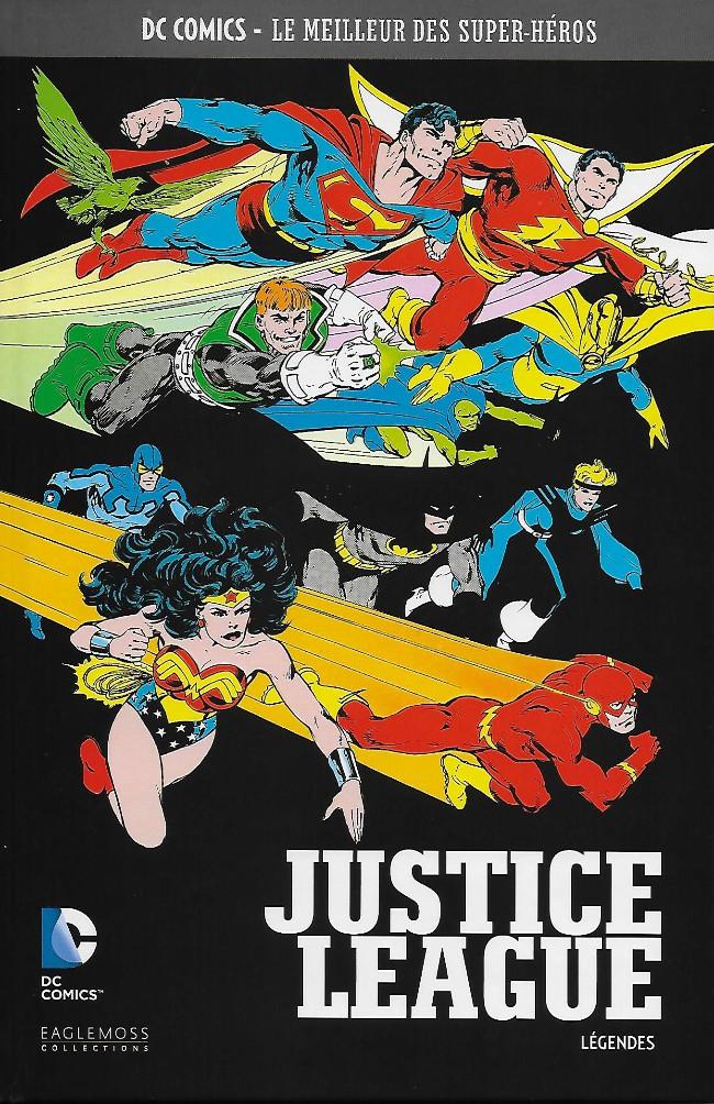 Couverture de DC Comics - Le Meilleur des Super-Héros -38- Justice League - Légendes