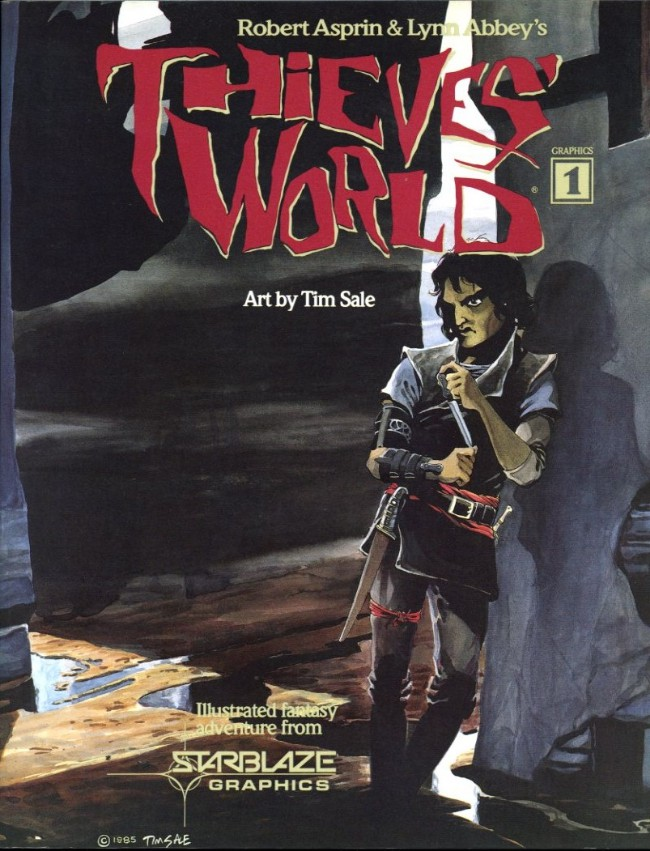 Couverture de Thieves' World (1985) -1- Thieves' World
