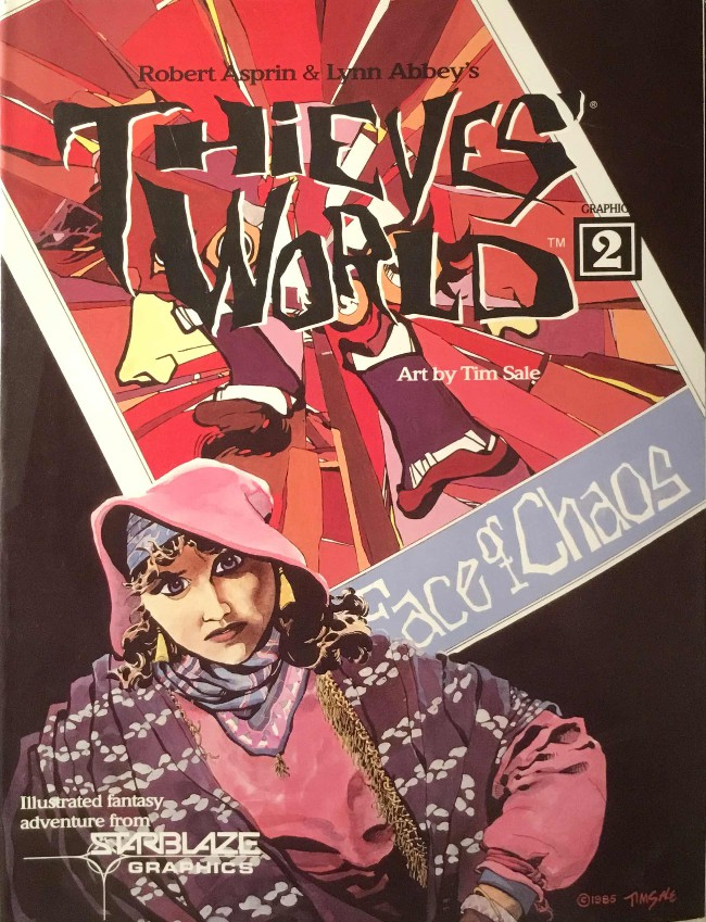 Couverture de Thieves' World (1985) -2- Face of Chaos