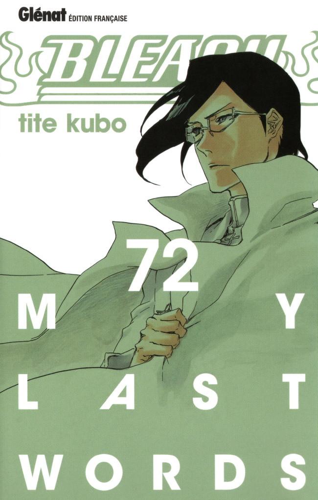 Couverture de Bleach -72- My last words
