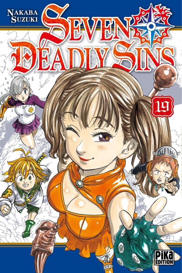 Couverture de Seven Deadly Sins -19- Tome 19