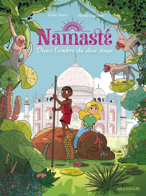 Couverture de Namasté -2- Dans l'ombre du dieu singe