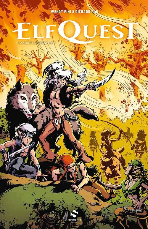 Couverture de ElfQuest - La Fantastique quête des elfes -INT01- La Quête originelle 1