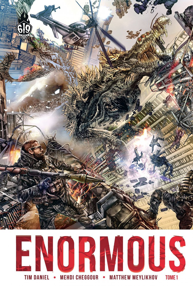 Couverture de Enormous -1- Extinction Level Event