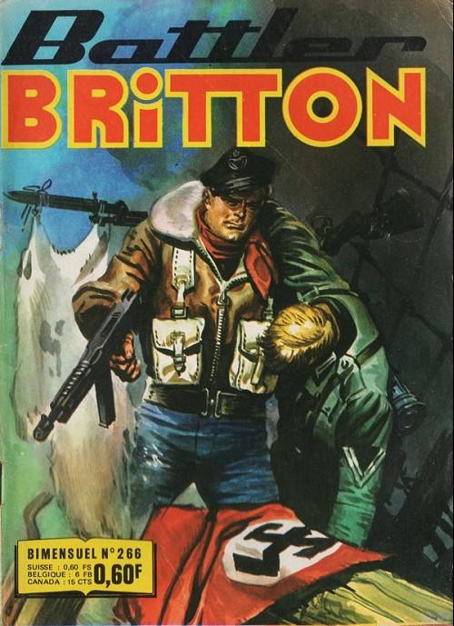 Couverture de Battler Britton -266- L'île occupée - Camouflage - Coûte que coûte
