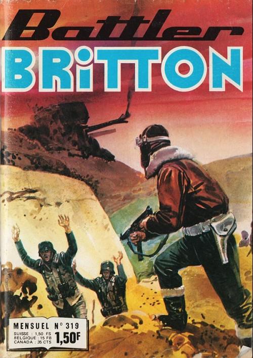 Couverture de Battler Britton -319- Piège à Mamboina - Poursuite dans le désert - Victoire posthume - le cercle infernal
