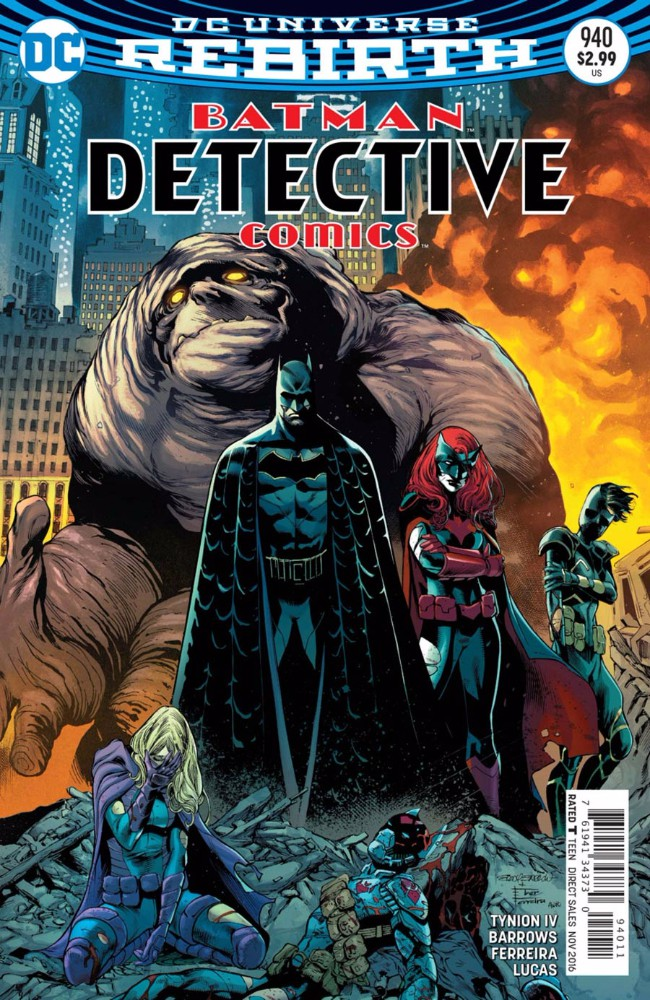 Couverture de Detective Comics (1937), Période Rebirth (2016) -940- Rise of the Batmen Part Seven: The Red Badge of Courage