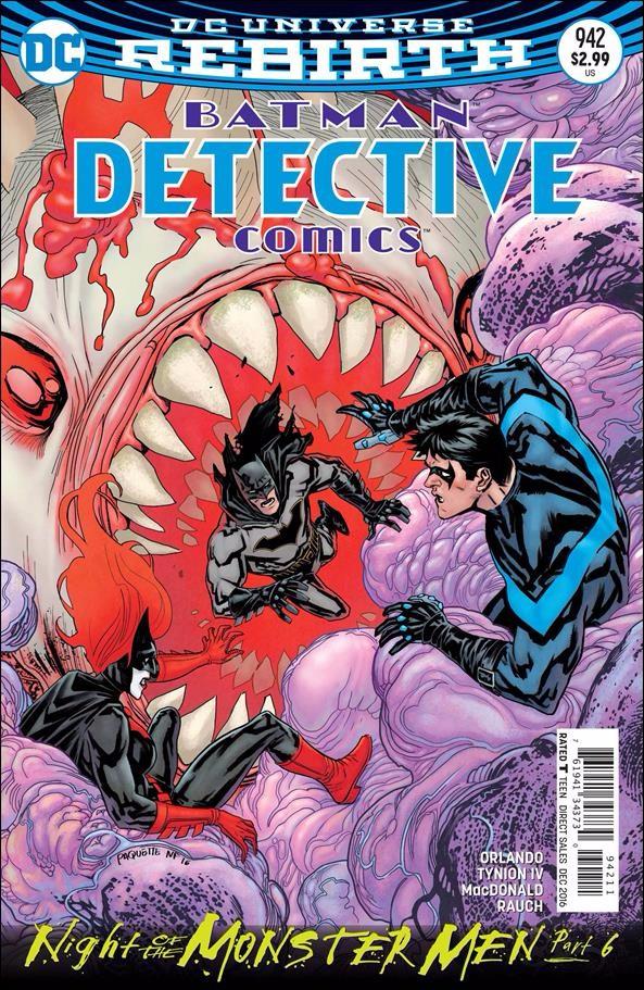 Couverture de Detective Comics (1937), Période Rebirth (2016) -942- Night of the Monster Men Finale