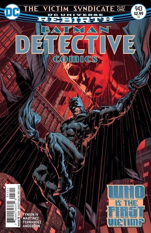 Couverture de Detective Comics (1937) -943- The Victim Syndicate Part One: I Saw the Devil