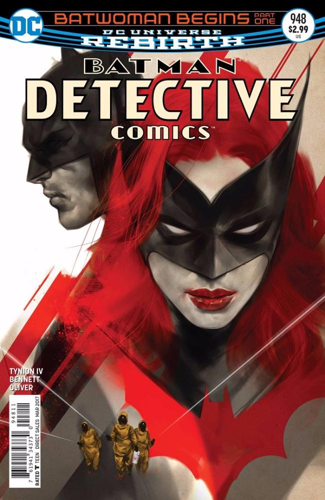 Couverture de Detective Comics (1937), Période Rebirth (2016) -948- Batwoman Begins: Part One