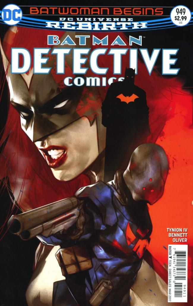 Couverture de Detective Comics (1937), période Rebirth (2016) -949- Batwoman Begins Finale