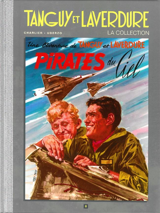 Couverture de Tanguy et Laverdure - La Collection (Hachette) -8- Pirates du ciel