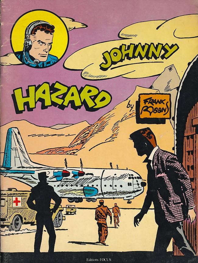 Couverture de Johnny Hazard -2- Bandes quotidiennes 1961