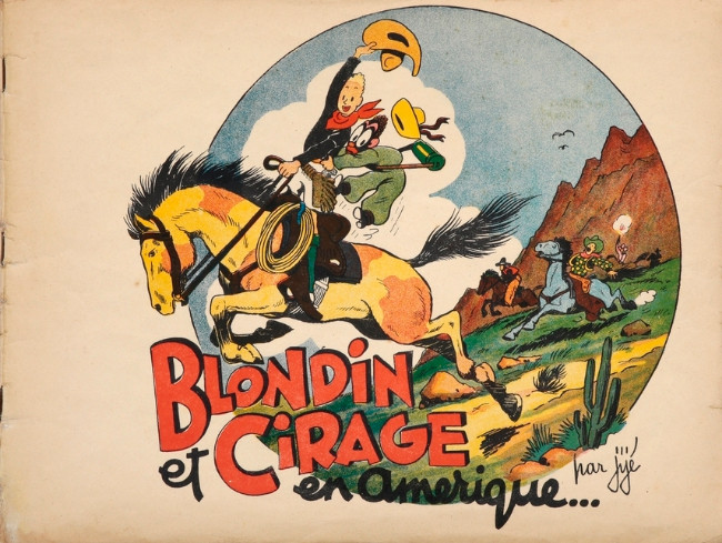 Couverture de Blondin et Cirage -1- Blondin et Cirage en Amérique
