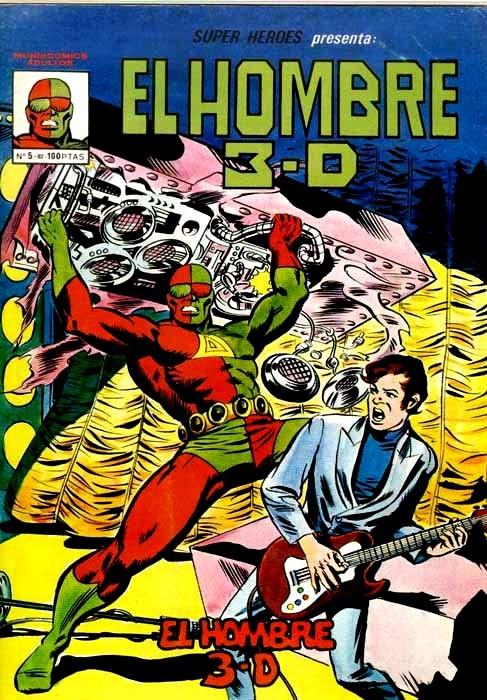 Couverture de Super Heroes presenta (Vol. 3) -5- El Hombre 3-D