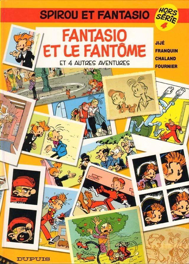 Couverture de Spirou et Fantasio -HS04- Fantasio et le fantôme (et 4 autres aventures)