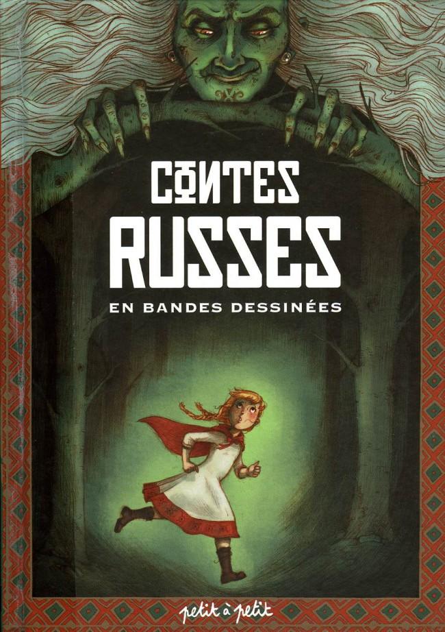 Couverture de Contes du monde en bandes dessinées - Contes russes en bandes dessinées