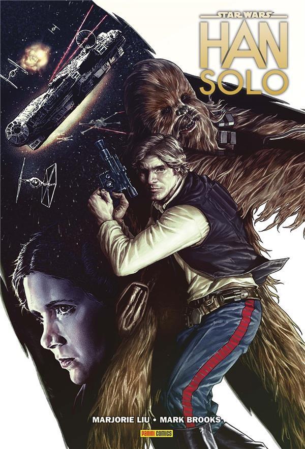 Couverture de Star Wars - Han Solo - La Course du Vide du Dragon