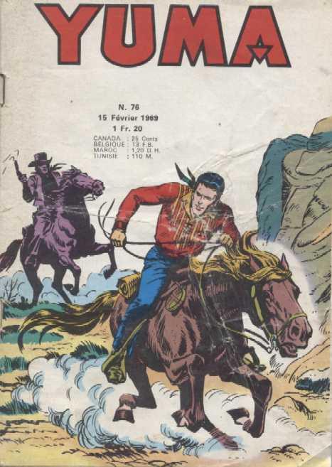 Couverture de Yuma (1re série) -76- Le petit ranger