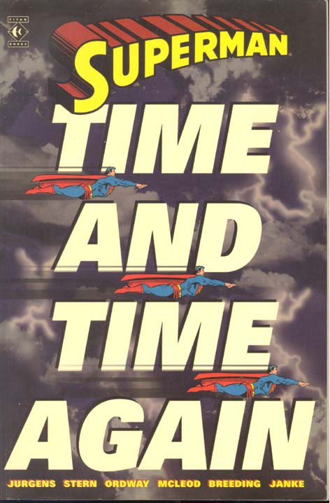 Couverture de Superman (TPB) -INT- Time and Time Again