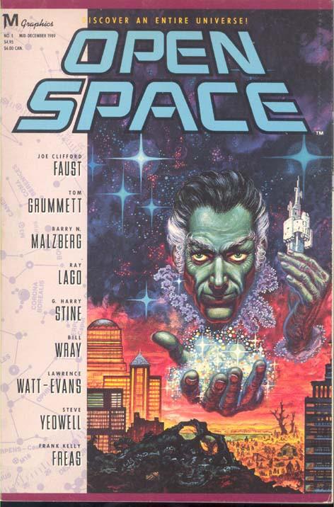 Couverture de Open Space (1989) -1- Open Space