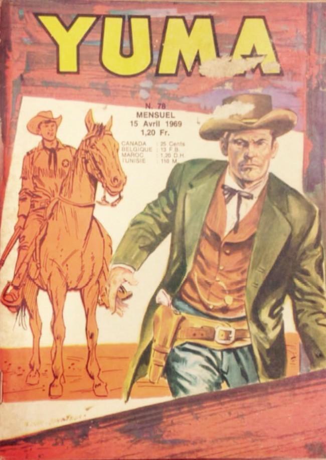 Couverture de Yuma (1re série) -78- Le petit ranger