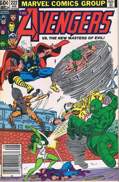 Couverture de Avengers Vol. 1 (Marvel Comics - 1963) -222- A gathering of evil!