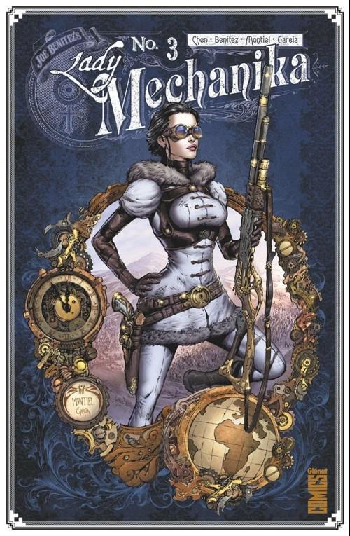 Couverture de Lady Mechanika -3- La Tablette des Destinées