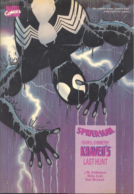Couverture de Amazing Spider-Man (The) (TPB) -INT- Fearful Symmetry: Kraven's last Hunt