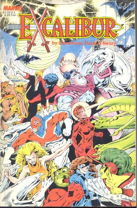 Couverture de Excalibur (1988) -HS- Special edition: The sword is drawn