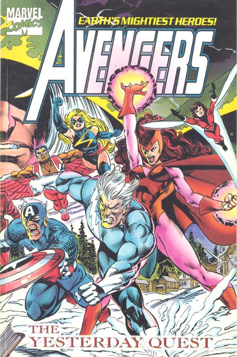 Couverture de Avengers (The) (1963) -INT- The Yesterday Quest