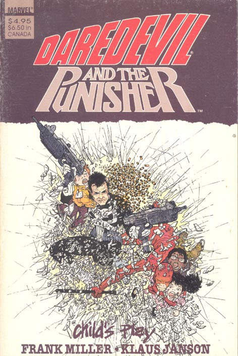 Couverture de Daredevil (1964) -INT- Daredevil and the Punisher: Child's Play