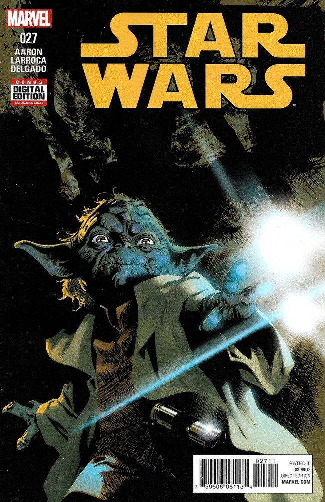 Couverture de Star Wars (2015) -27- Book VI, Part II: Yoda's Secret War