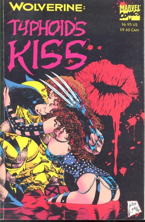 Couverture de Wolverine: Typhoid's Kiss (1994) -INT- Typhoid's Kiss