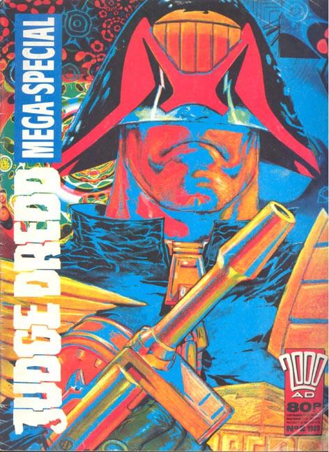 Couverture de 2000 AD (1977) -1989- Judge Dredd Mega-Special