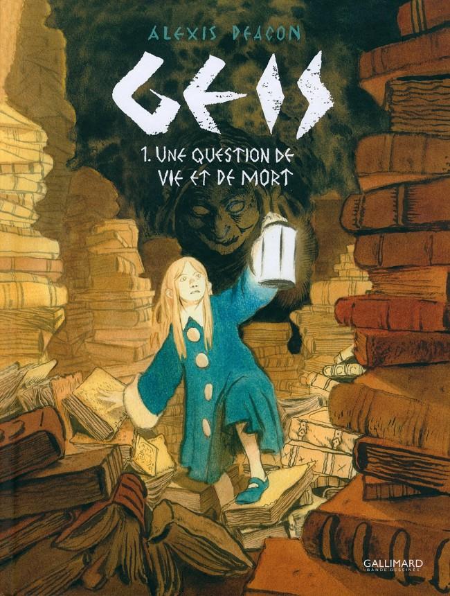 Couverture de Geis -1- Une question de vie ou de mort