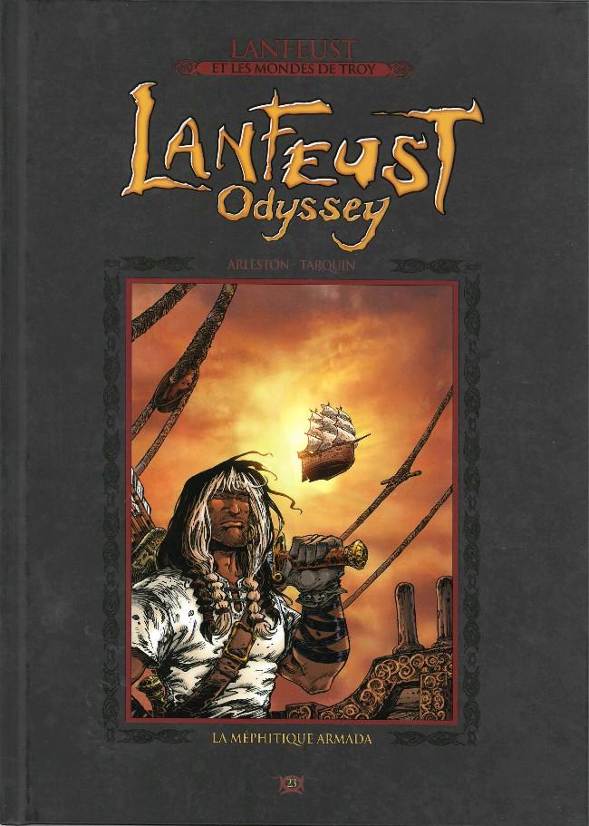 Couverture de Lanfeust et les mondes de Troy - La collection (Hachette) -23- Lanfeust Odyssey - La méphitique armada
